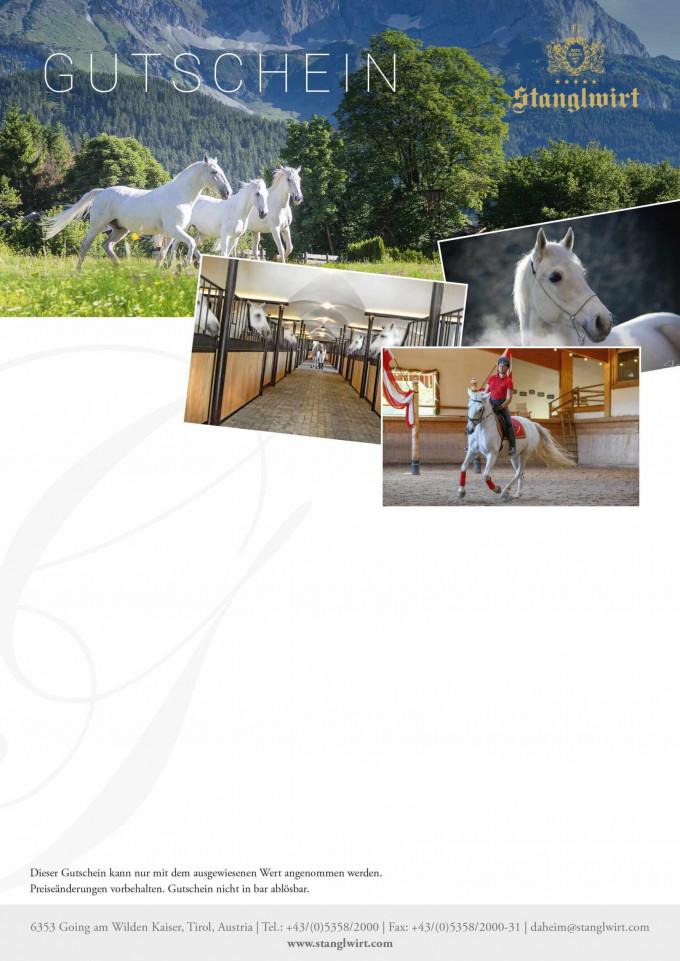 Romantische Kutschenfahrt mit Tiroler Pferden